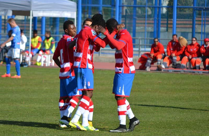 Granada CF B Lucena Gol Cuero
