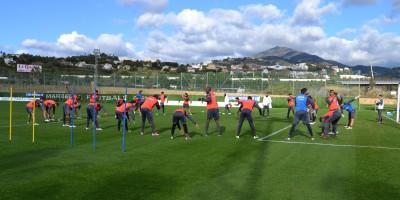 Segunda sesión entrenamiento Marbella