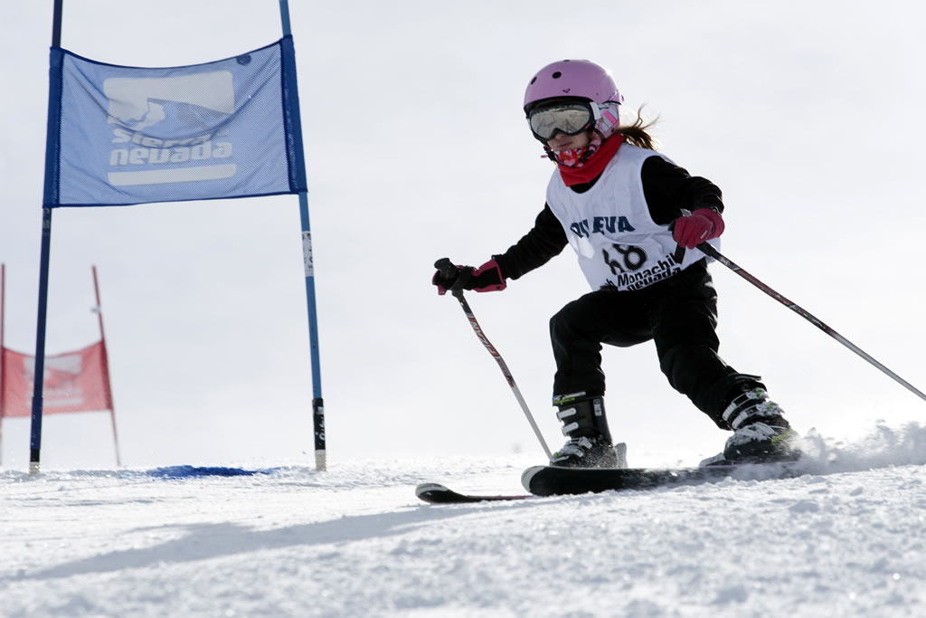 esquí infantil