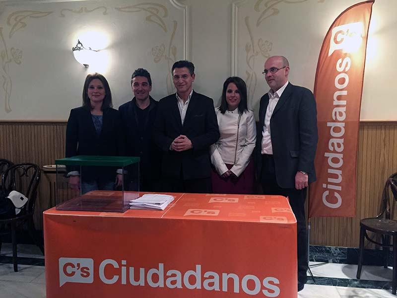 María del Mar Sánchez, Manuel Olivares, Luis Salvador, Lorena Rodríguez y Raúl Fernández