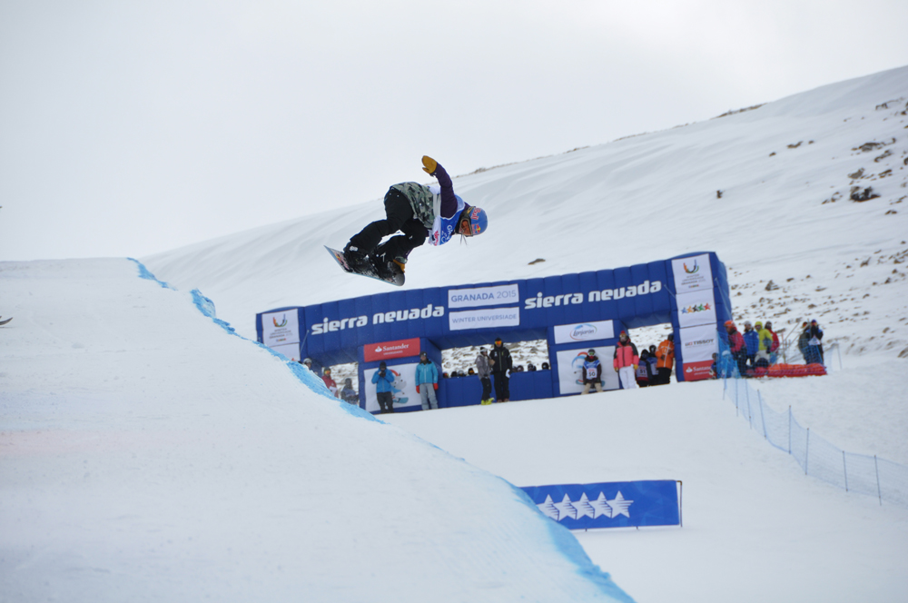 Universiada 2015-02-07 - Snowboard Halfpipe Queralt