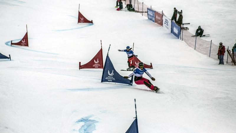 Universiada 2015-02-10 slalom paralelo snowboard femenino