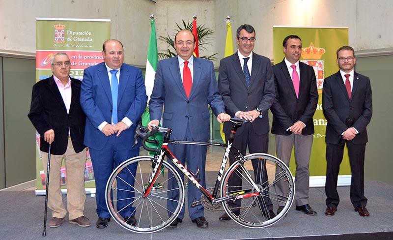 2015-03-09 Presentación Vuelta 2015 Sebastian Pérez Javier Guillén