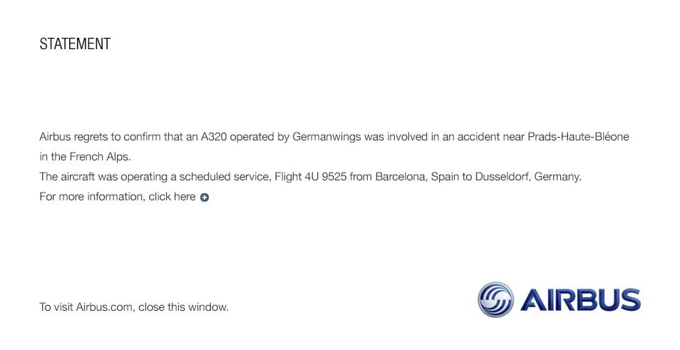 Airbus-mensaje