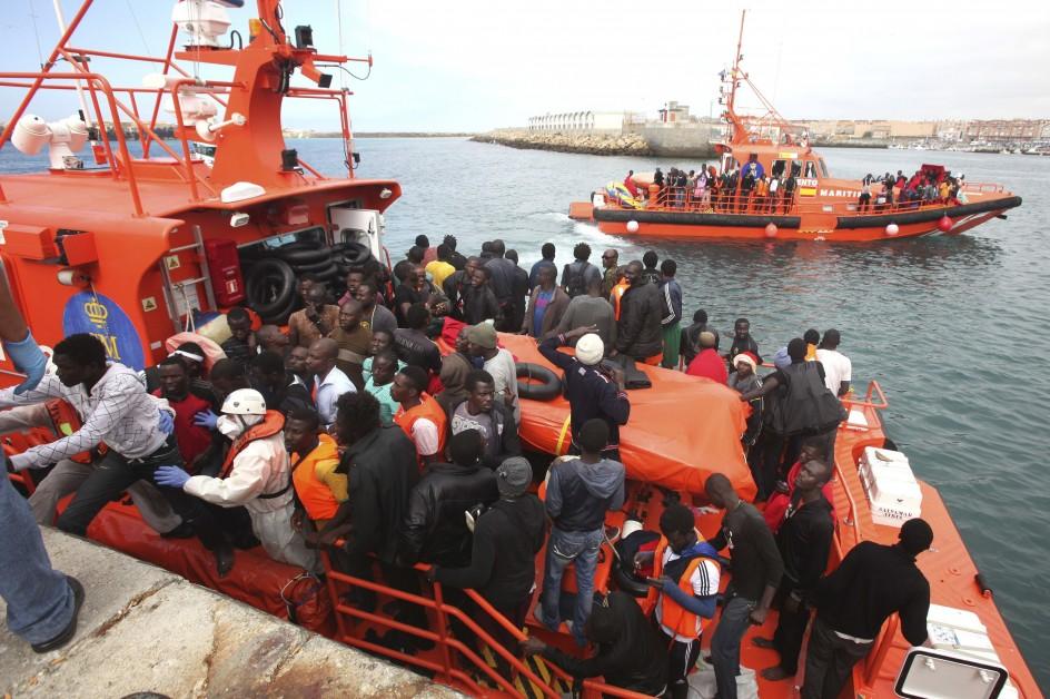 imigrantes rescatados