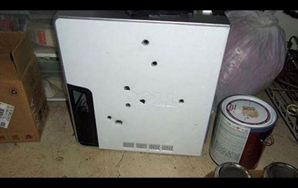 ordenador disparos