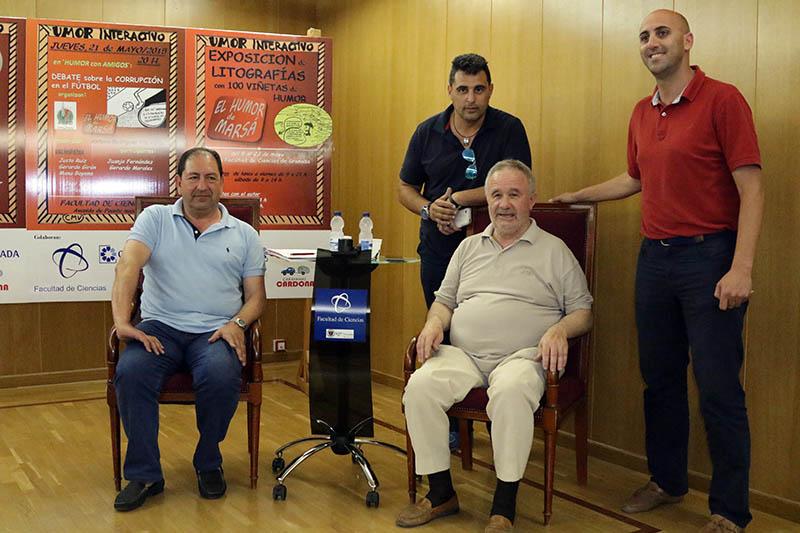 2015-05-21 Rufo Requena Debate Corrupción Fútbol