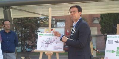 La propuesta de movilidad de Paco Cuenca: desaparecen la LAC y los transbordos