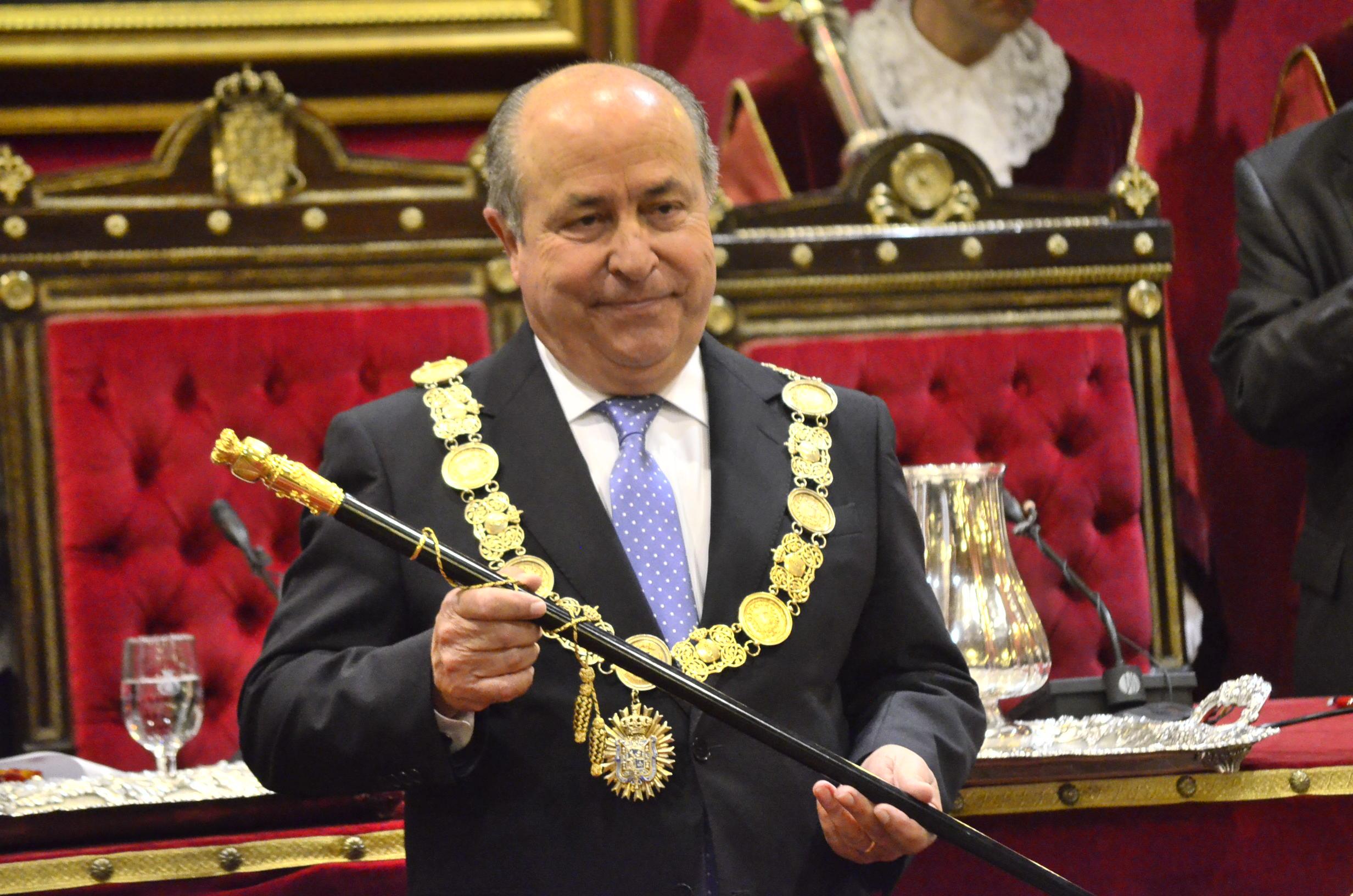 Torres Hurtado investidura alcalde