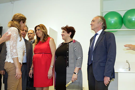Inauguración Facultad Ciencias 6 Susana Díaz instalaciones Montesinos