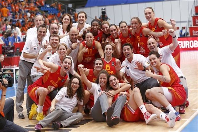 españa baloncesto femenino