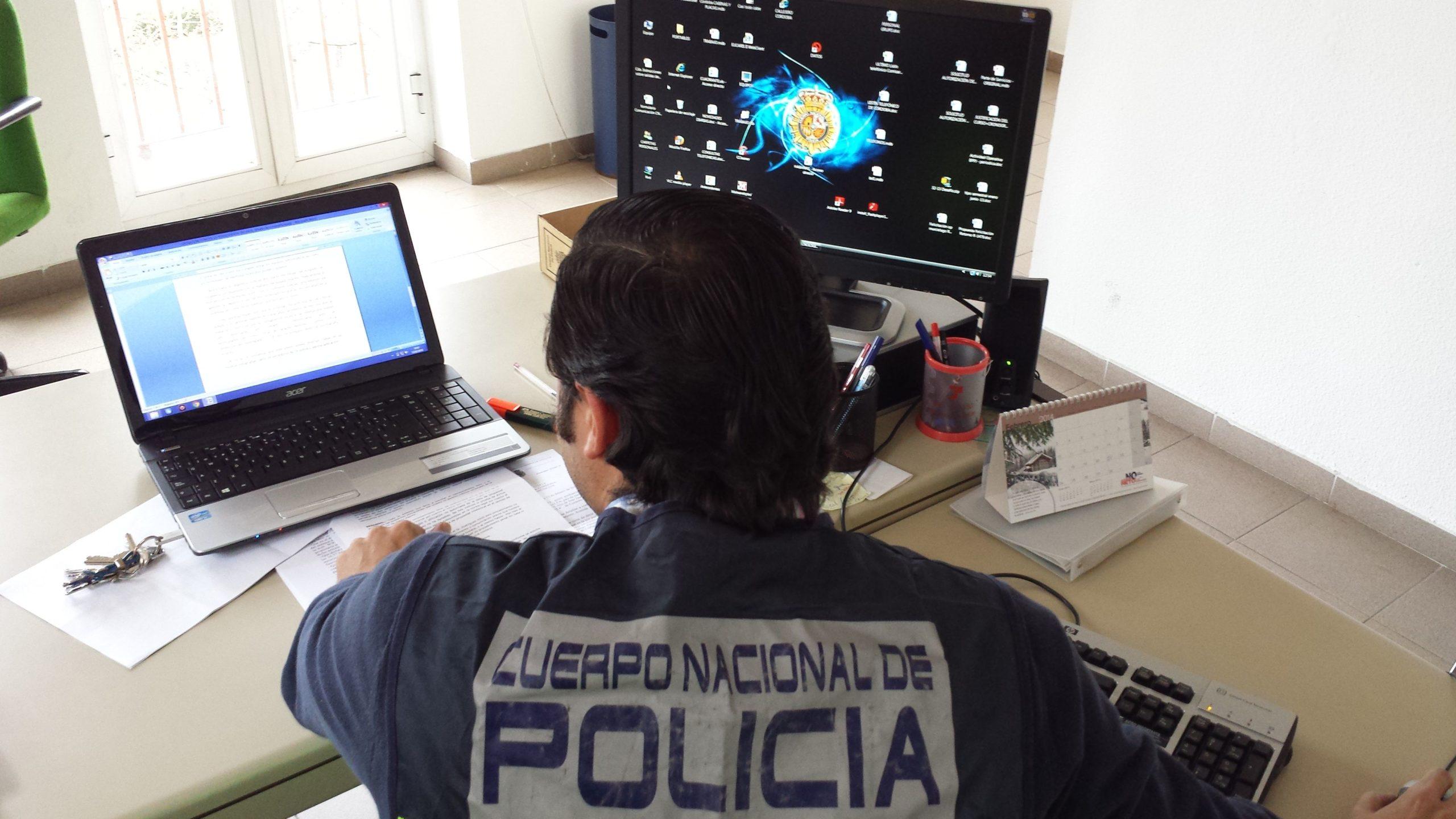 policia nacional informatica