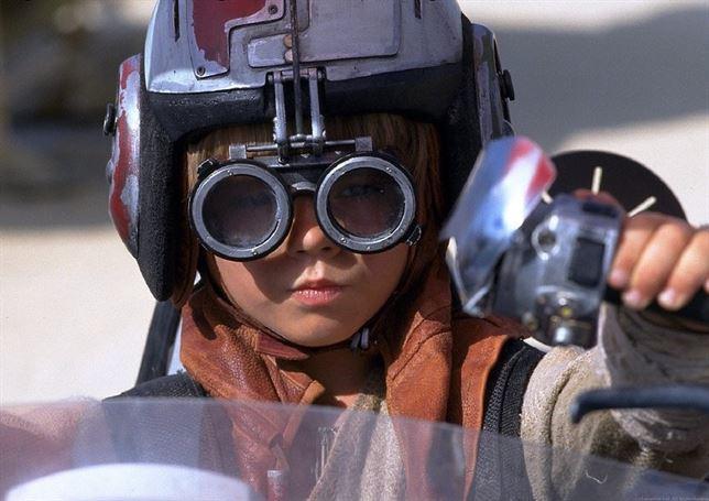 star wars anakin skywalker joven