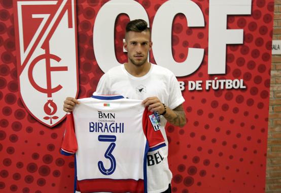 Crisitiano Biraghi Granada CF presentación
