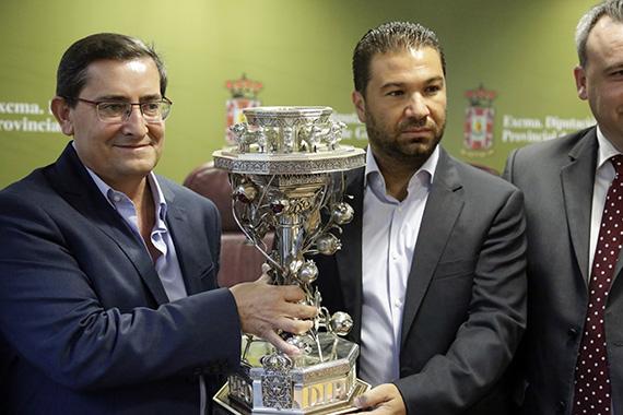IV Treofeo Diputación 2 José Entrena Mariano Lorente Juan Carlos Cordero Javier Jiménez