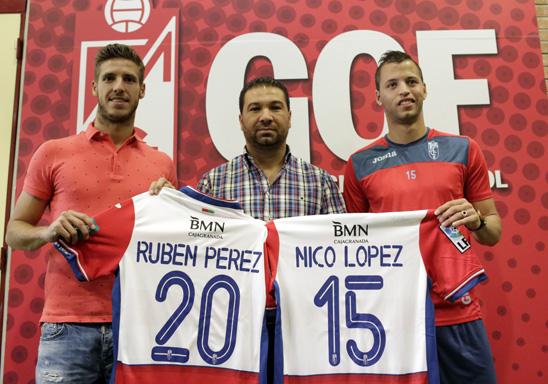 Nico Lopez Rubén Perez Cordero presentación