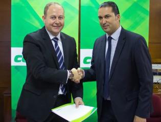 Firma colaboracion Fundacion Baloncesto Granada -2