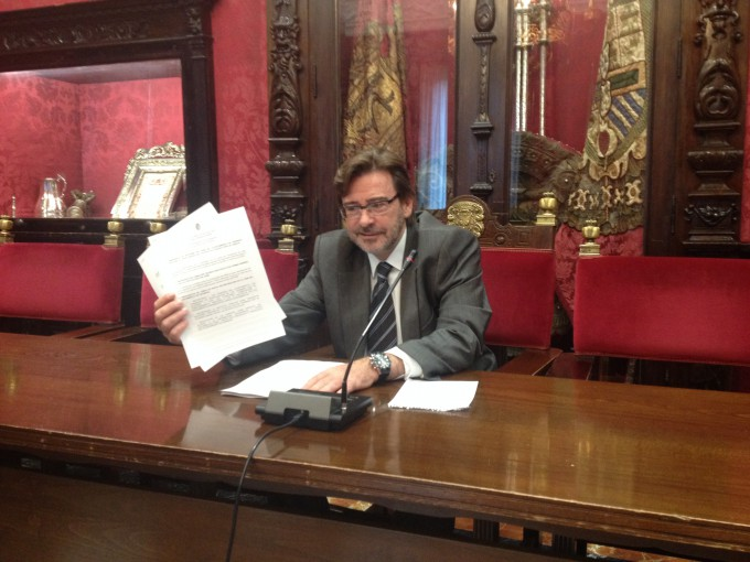 BALDOMERO OLIVER PSOE CONCEJAL AYUNTAMIENTO DE GRANADA ROM