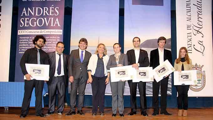 Galardonados-certamen-Andres-Segovia-2014-Gabinete