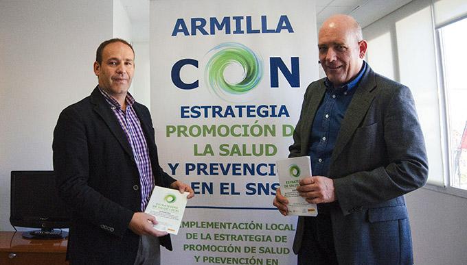 Gerardo sánchez armilla Plan en la Estrategia de Promoción del Sistema Nacional de Salud