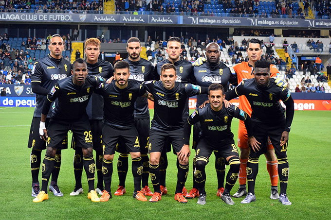 Granada CF once málaga