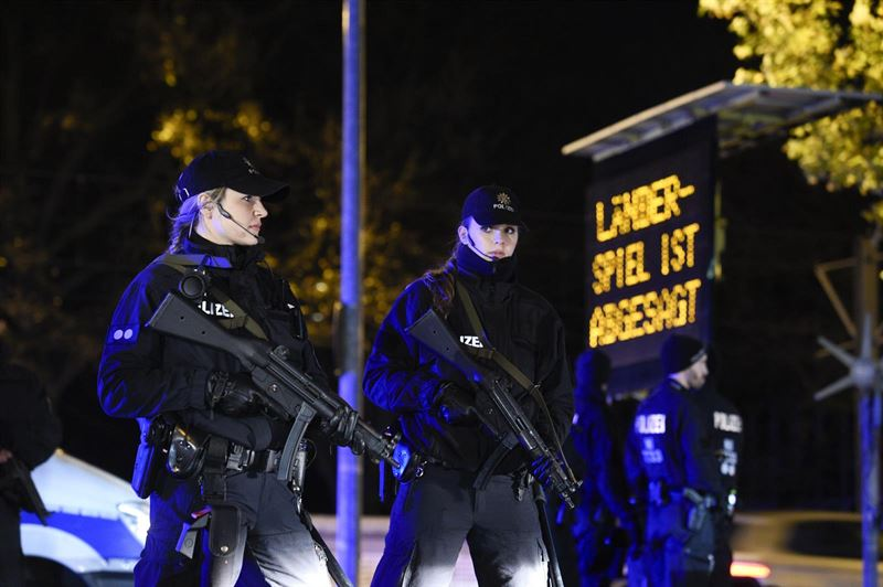 Hannover policia alemannia atentados