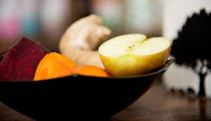 Plato-fruta-verdura-hicuri-Restaruante-vegano-GetlyArce