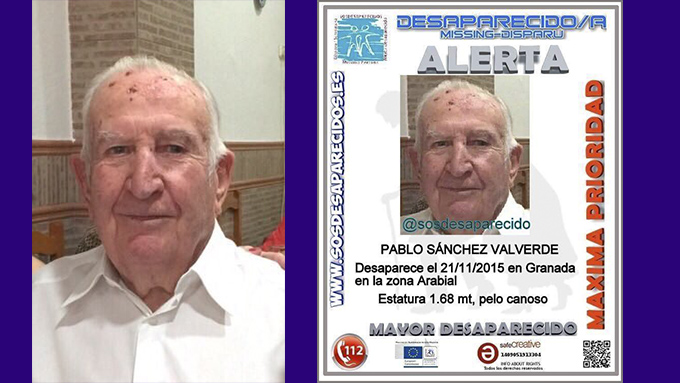 pablo sanchez valverde desaparecido foto collage