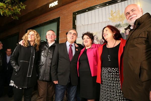 2015-12-03 Inicio Campaña Teresa Jiménez José Marínez Olmos Elvira Ramón Chema Rueda