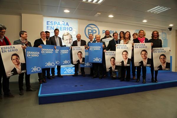 2015-12-03 Pegada Carteles PP Sebastián Pérez Carlos Rojas