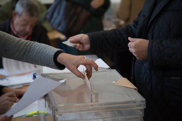 20D Elecciones Generales Urnas Votación Votos -12