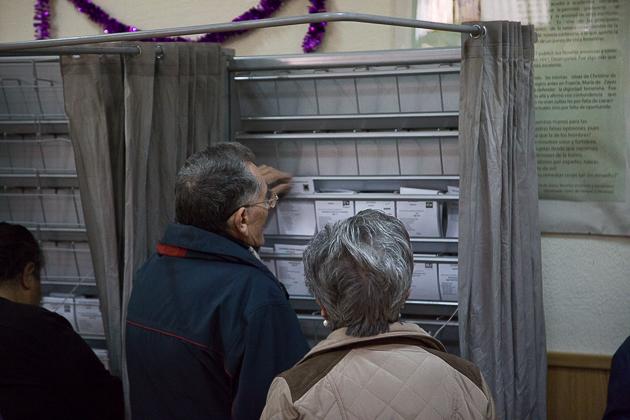 20D Elecciones Generales Urnas Votación Votos -19