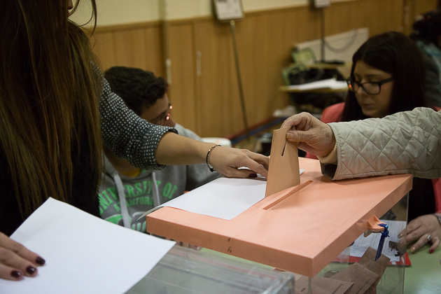 20D Elecciones Generales Urnas Votación Votos -20