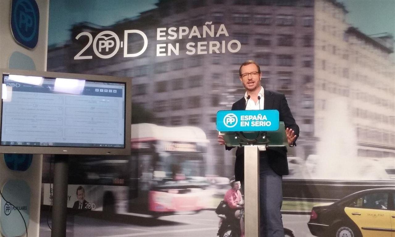 Javier Maroto secretario general pp