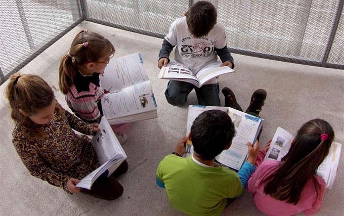 Niños-lectura-libros-Educacion-EP