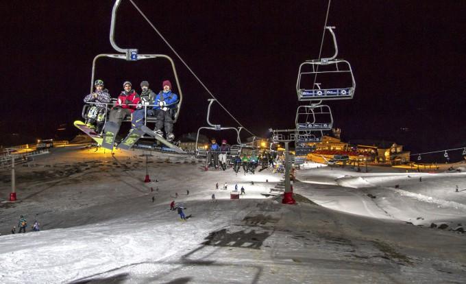 sierra nevada nocturna