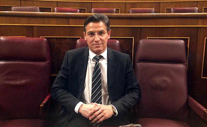 El diputado granadino Luis Salvador