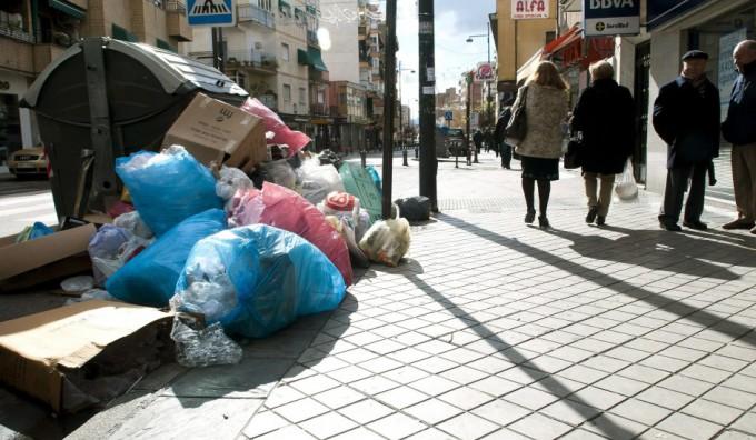 basuras granada avenida dilar