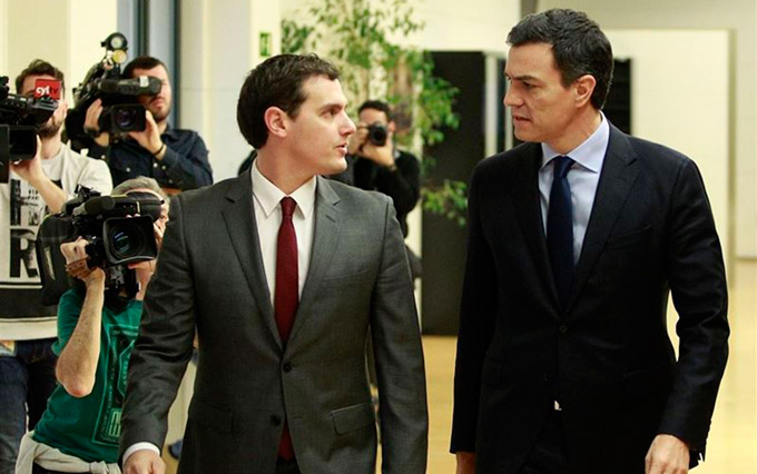 Albert-Rivera-y-Pedro-Sanchez-EP