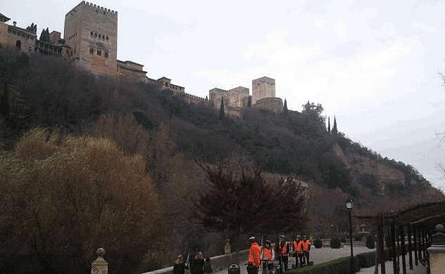Alhambra PTristes colina