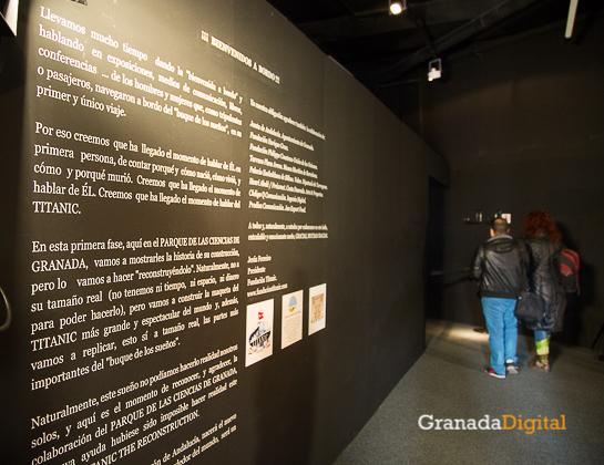 Exposición Titanic Parque de las Ciencias -3