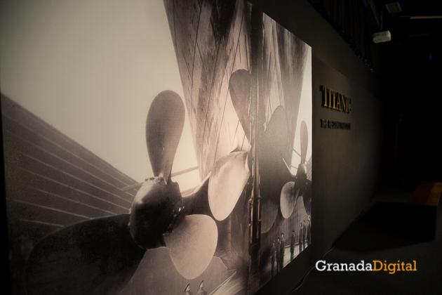 Exposición Titanic Parque de las Ciencias -4