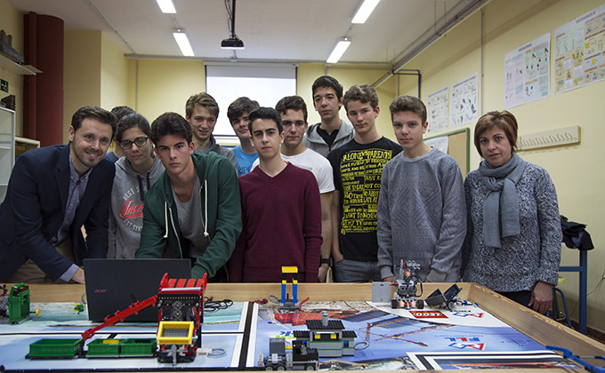 Lego League Junta