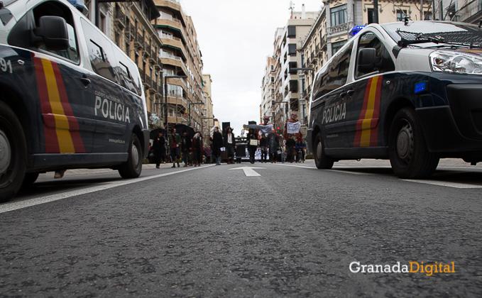 Manifestación a favor titiritieros Gran Vía -19