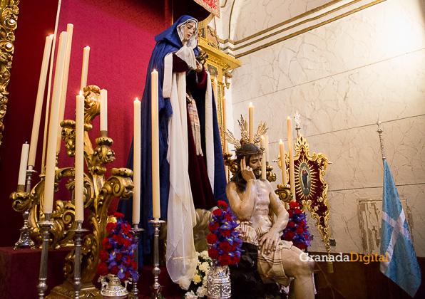 Presentación Palio Virgen Remedios Estudiantes Semana Santa 2016 -15