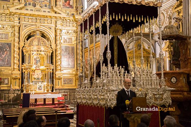 Presentación Palio Virgen Remedios Estudiantes Semana Santa 2016 -18