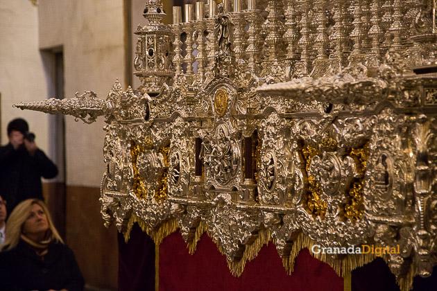 Presentación Palio Virgen Remedios Estudiantes Semana Santa 2016 -4