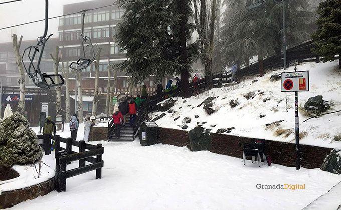 Sierra nevada prado llano nieve 14 febrero 2016-02