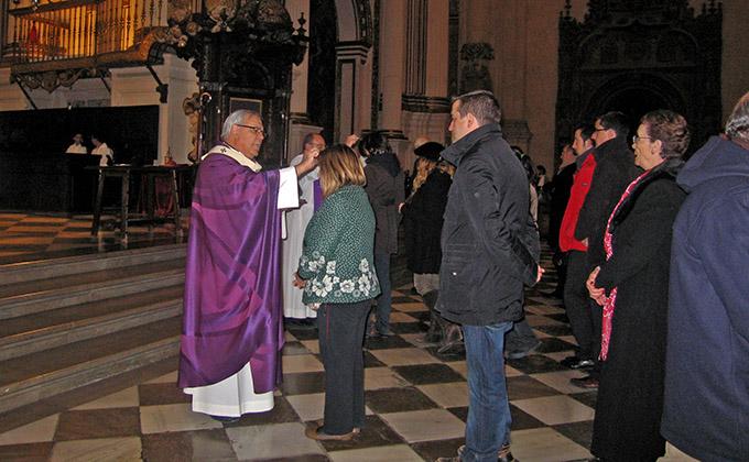 miercoles de ceniza arzobispo javier martínez