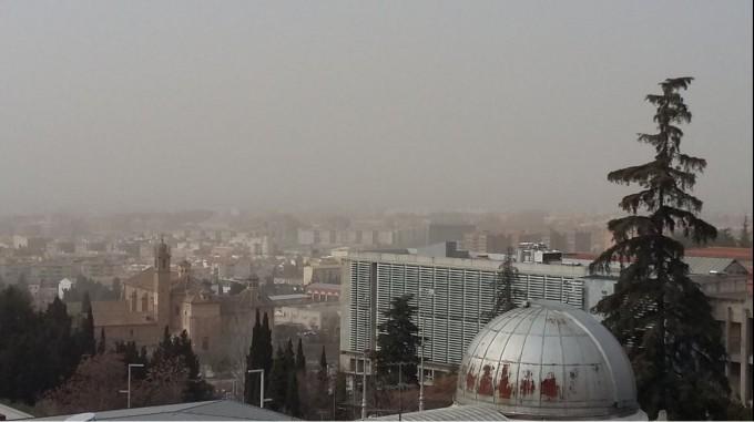nube polvo sahariano granada 1